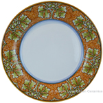 Deruta Italian Dinner Plate - Autumn