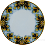 Deruta Italian Dinner Plate - FDL Black/Brown