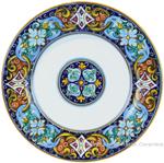 Deruta Italian Dinner Plate - Ricco Vario 1