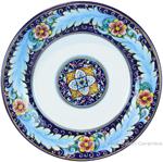 Deruta Italian Dinner Plate - Ricco Vario 2