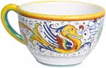 Deruta Italian Ceramic Raffaellesco Coffee cup