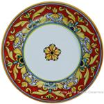 Deruta Italian Pasta Plate - Brocatto