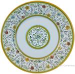 Deruta Italian Pasta Plate - Floreale
