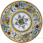 Deruta Italian Pasta Plate - Raffaellesco with Center