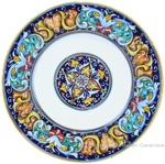 Deruta Italian Pasta Plate - Ricco Vario 3