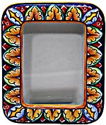 Ceramic Majolica Picture Frame - Rectangle