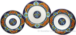 Deruta Italian Ceramic Dinner Place Setting - Ricco Vario 5