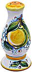 Deruta Italian Ceramic Salt Shaker