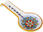 Deruta Italian Ceramic Spoon Rest