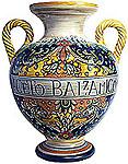 Deruta Italian Vase - Balsamic