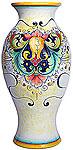 Deruta Italian Ceramic Vase - D197