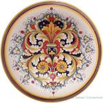 Italian Wall Plate - Corallo