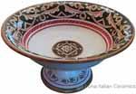 Italian Pedestal Fruit Bowl - Barocco