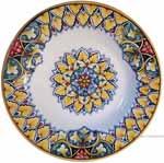 Italian Ceramic Pasta Bowl - Vario Antico - Snowflake