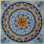 Tile Flower Geometric