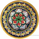 Hanging/Dipping Plate - Star Snowflake - 12cm