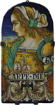 Tile Portrait Female - Carpe Diem (Seize the Day)