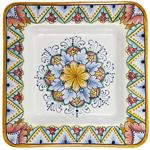Italian Ceramic Square Plate