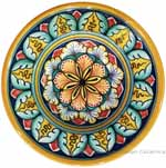 Hanging/Dipping Plate - Star Flower - 12cm