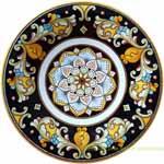 Ceramic Majolica Plate D209 30cm