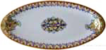 Italian Ceramic Oval Platter - Vario and Gold