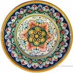 Hanging/Dipping Plate - Snowflake Flower - 15cm