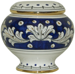 Urn - Blue and Gold Petit