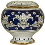 Urn - Blue and Gold Small