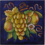 Tile Frutta Blu - Fruit Blue