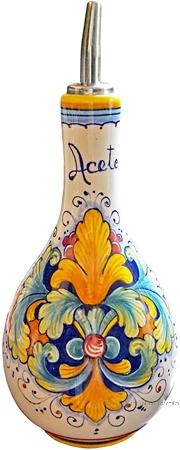 Ceramic Majolica Vinegar Dispenser Ramina 90 20cm