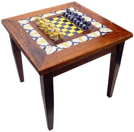 Italian Ceramic Chess Board