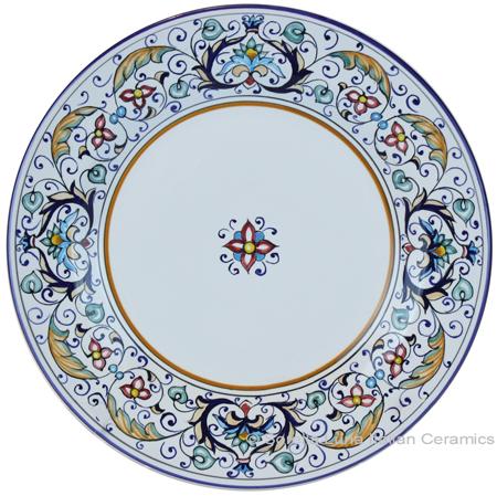 Deruta Italian Salad Plate - Rinascimento