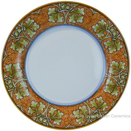 Deruta Italian Dinner Plate - Autumn