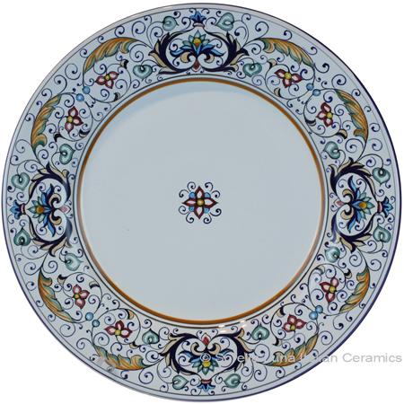 Deruta Italian Dinner Plate - Rinascimento