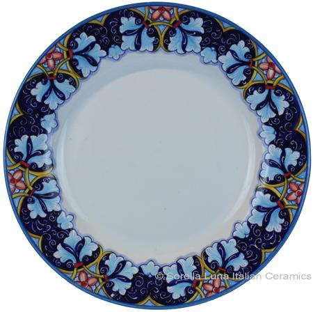 Deruta Italian Dinner Plate - Winter