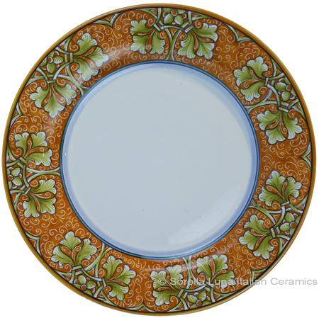 Deruta Italian Pasta Plate - Autumn