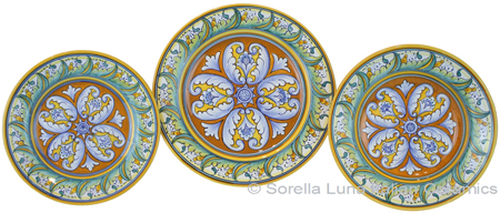 Deruta Italian Ceramic Dinner Place Setting - TAV H
