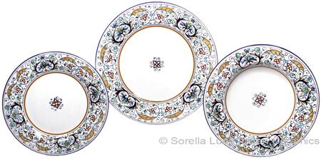 Deruta Italian Ceramic Dinner Place Setting - Rinascimento