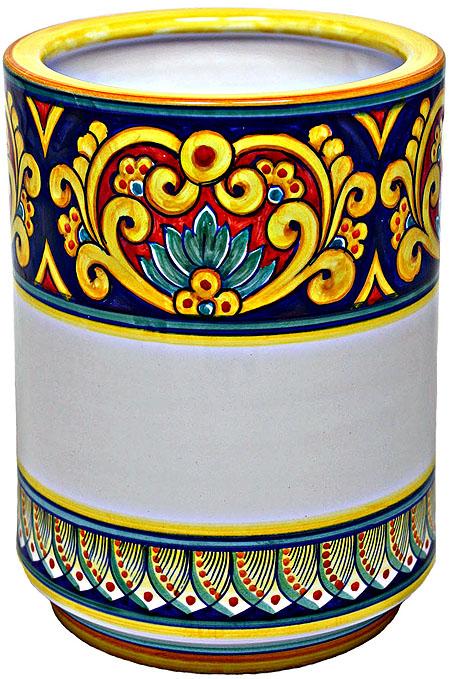 Deruta Italian Ceramic Vase - Vario Ricco