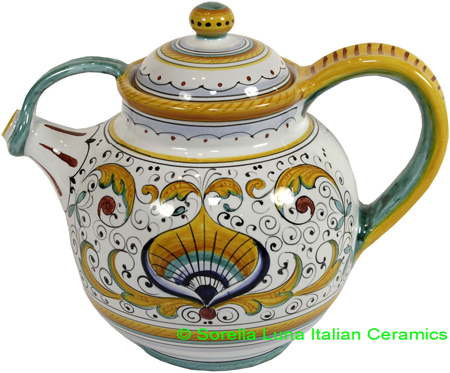 Deruta Italian Ceramic Teapot