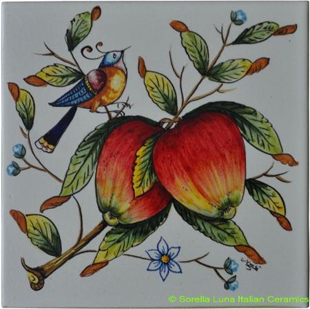 Tile Mela Apples