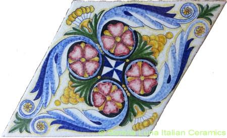 Tile Napoli - Rhombus
