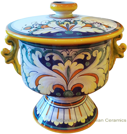 Urn - Pisside with Handles - Decoro 198