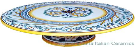 Italian Decorative Cake Plate - Decoro 23