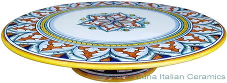 Italian Decorative Cake Plate - Decoro 24