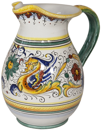 Ceramic Pitcher - Raffaellesco