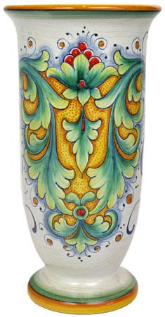 Deruta Italian Ceramic Vase - D198