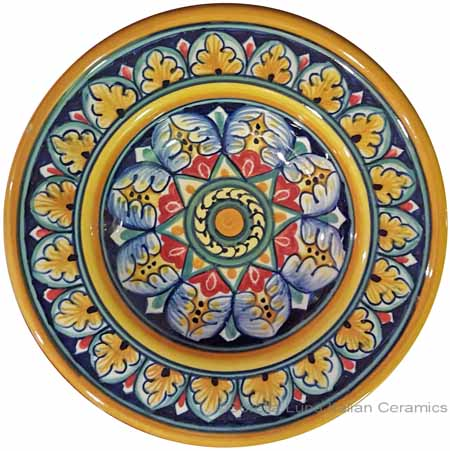 Hanging/Dipping Plate - Star Wreath - 12cm
