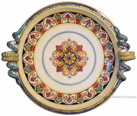 Italian Round Handled Centerpiece - Susana