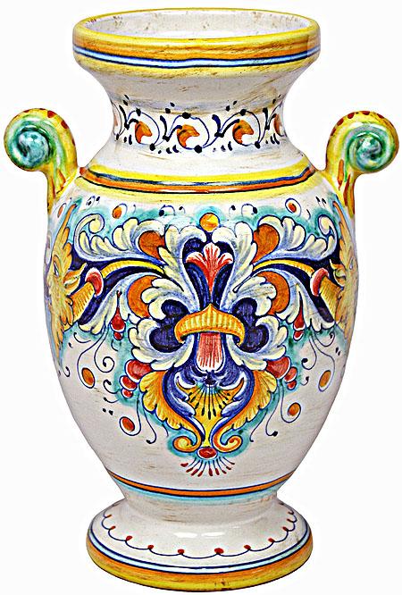 Deruta Italian Ceramic Vase - D193